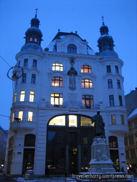 The First Day in Austria, Vienna 35
