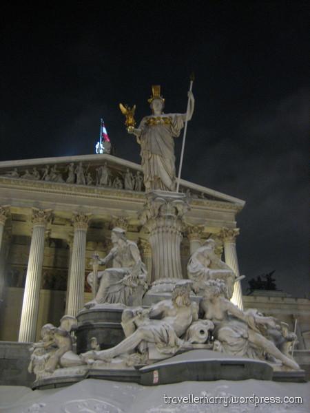 The First Day in Austria, Vienna 84