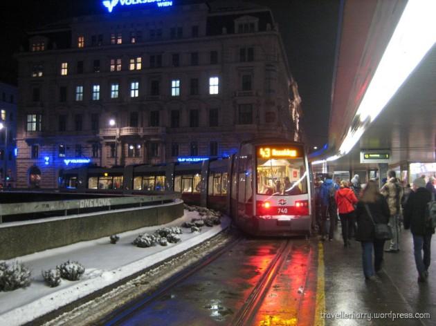 The First Day in Austria, Vienna 94