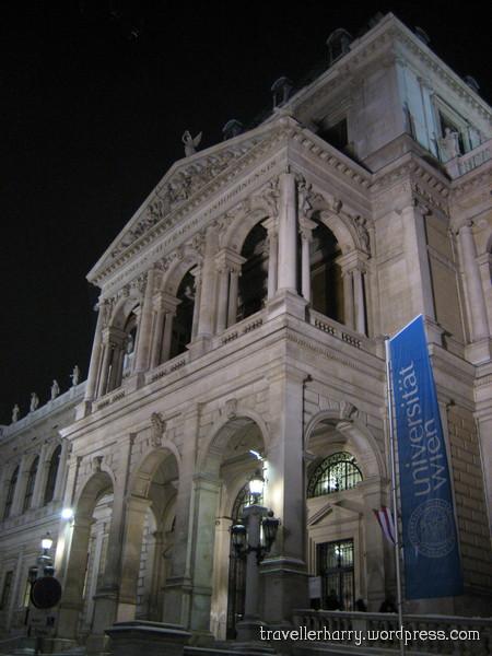 The First Day in Austria, Vienna 95