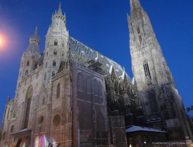 The First Day in Austria, Vienna P 10