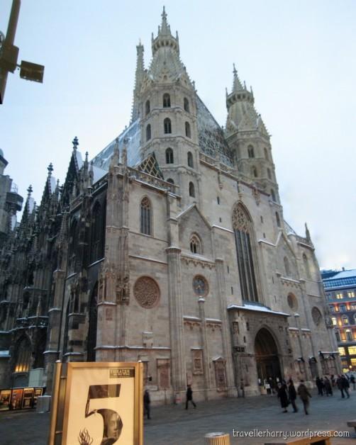 The First Day in Austria, Vienna P 8