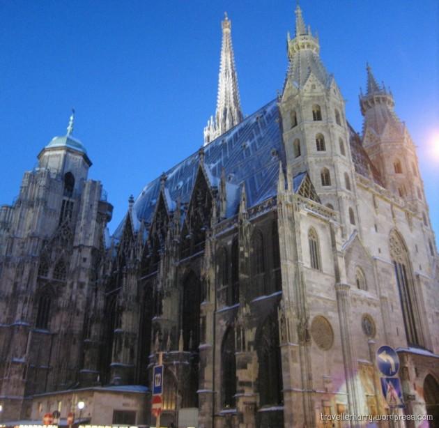 The First Day in Austria, Vienna P 9